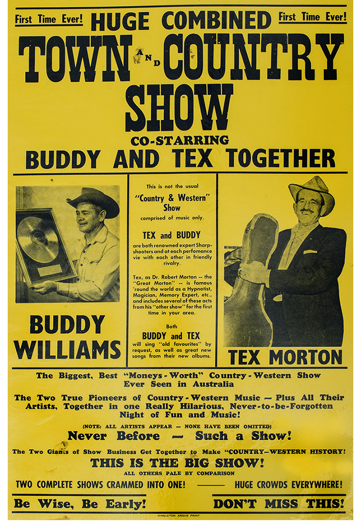Town and Country Show Poster, 1972